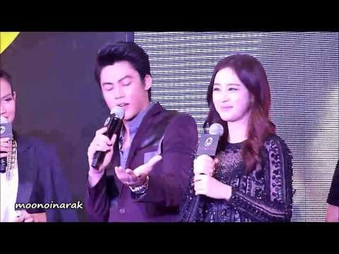 131028 หมาก ปริญ + Kim Tae Hee @ 12Plus Colorista Event