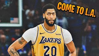 Anthony Davis Highlight Mix | Lakers Hype | Mixed Personalities by: YNW Melly & Kanye West