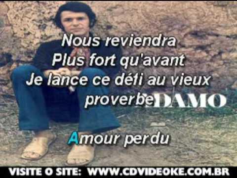 Adamo   Amour Perdu
