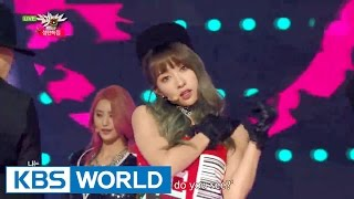 EXID HOT PINK Music Bank Christmas Special 2015 12 25