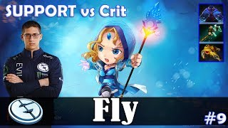 Fly - Crystal Maiden Safelane | SUPPORT vs Crit (Razor) | Dota 2 Pro MMR Gameplay #9