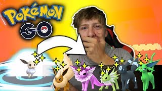 VIELE Shiny Evoli entwickeln!✨NEUE Shinys • Pokémon Go deutsch