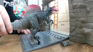HUD Family Gaming - Ollie playing Army v Dinosaurs