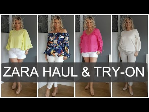 Zara Haul and Try-on (Spring 2017) | Fashion over 40