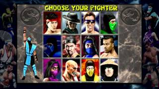 Mortal Kombat 2 - Sub-Zero Play Through