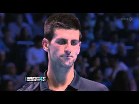 ATP World Tour Finals 2012 Final - Roger Federer vs Novak Djokovic [1080p HD]