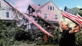 Unusual Tornado Hits Boston