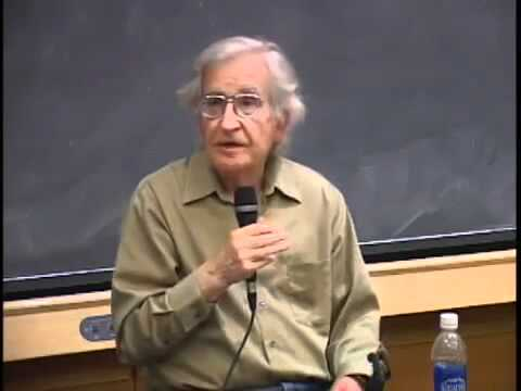 Noam Chomsky - On Social Cleansing, the 'war on drugs', Marijuana and prohibition