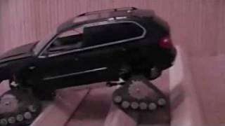BMW X5 1:14 and Mattracks 901