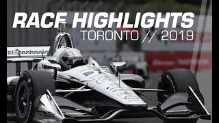 2019 Honda Indy Toronto // Race Highlights // NTT IndyCar Series