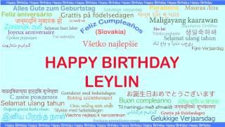 Leylin   Languages Idiomas - Happy Birthday