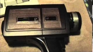 1970's GAF Super 8 Camera
