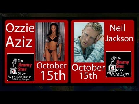 "Billboard Charting Ozzie Aziz & Singer/Actor Neil Jackson ""Quantum of Solace""| @DrJimmyStar @RonRussell on #jimmystarshow #ROKU | @jimmystarent Superstars Ozzie Aziz and Neil Jackson ( http://www...."
