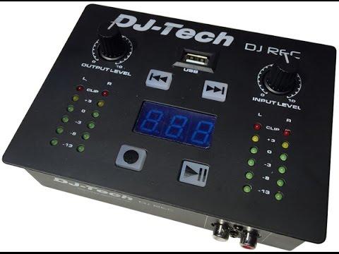 DJ Tech DJ REC USB Recording Device