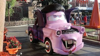 We Went To Disney's California Adventure To Celebrate HAUL-O-WEEN In Carsland!!