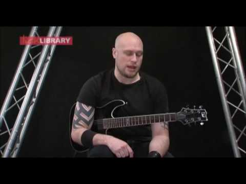 Andy James - Lick Library - Metal Rhythm Guitar Week 2 Example 1