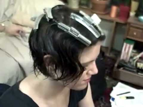Finger Wave tutorial 1/2
