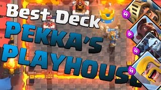 Best deck for Arena 4 Pekka's Playhouse!! | Clash Royale