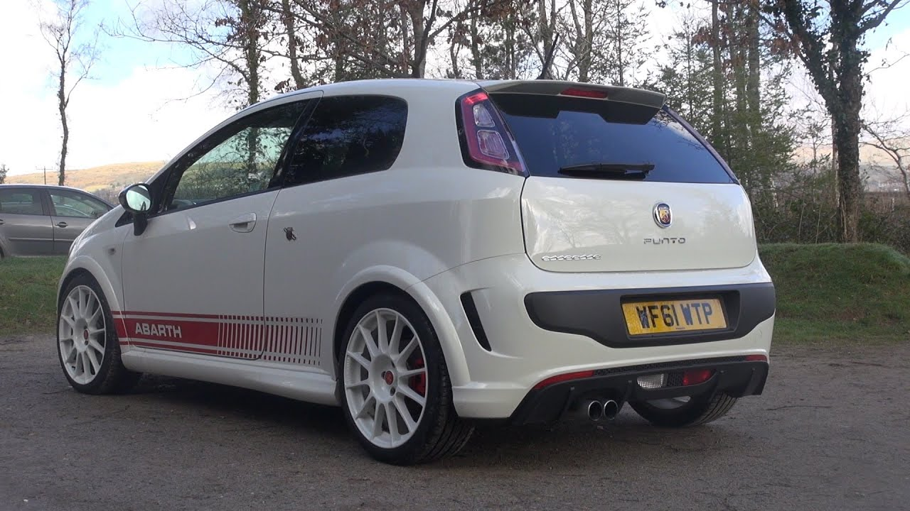 Abarth Punto Evo White Abarth Punto Evo Esseesse hd