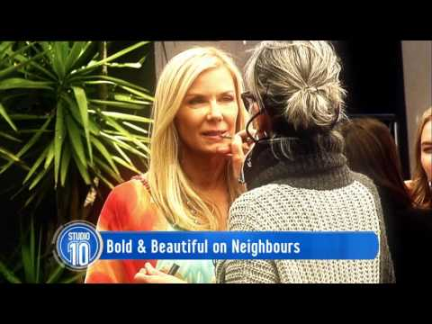 The Bold and the Beautiful Visits Neighbours