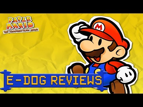 E-Dog Reviews: Paper Mario: The Thousand Year Door