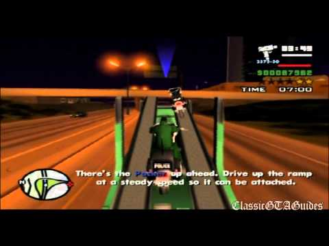 GTA: San Andreas: Mission 83 - Cop Wheels (PS2)