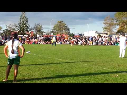 India Vs New Zealand Girls Kabaddi Match 2014 video