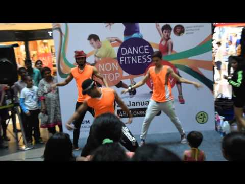 Republic Day Zumba Non Stop Dance Fitness Party @ Forum Mall Koramangala by Rhythmic Feet