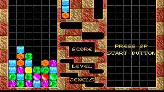 SEGA Megadrive / Genesis Columns remake autoplay with DIV GAMES STUDIO