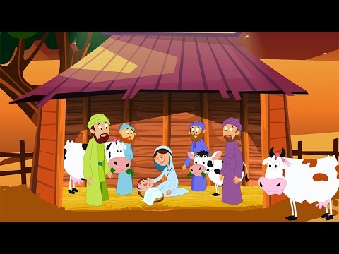 Away in a Manger with Lyrics - Christmas Carols