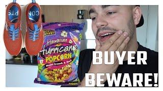 BUYER BEWARE! New Balance Pickup + Popcorn From Hawaii!