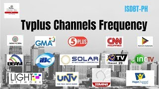 Tvplus Frequency List 2019