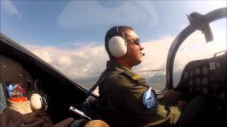 İlk Yalnız Uçuş - First Solo Flight, ( Cockpit View )