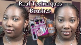Everyday Makeup Routine | Real Techniques Brushes | MAC Studio Waterweight Foundation