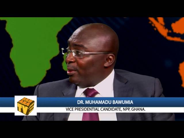 GH FILES: Dr. Muhamadu Bawumia Discusses Ghana's Recent IMF Bailout- Part1