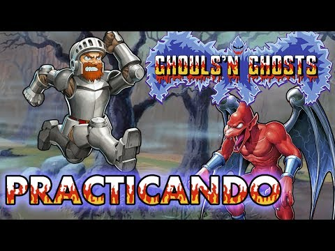 Ghouls'n Ghosts Video-Verguenzas en Español - Practicando