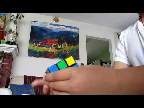 Watch 10 year  Solving a Rubiks Cube