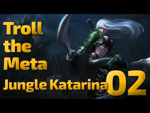 Teiger Carried | Troll The Meta | Katarina Jungle | 02 video