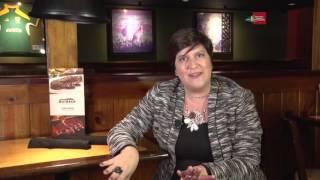 Paula Castellan - Diretora de Marketing da Bloomin'Brands, no quadro Dicas!