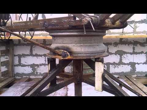 Лебедка своими руками для стройки