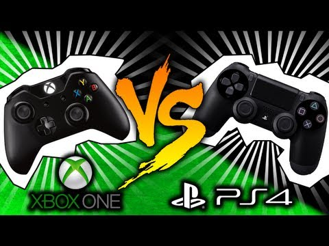 PS4 VS Xbox One! Comparativa Consola Sony y Microsoft - Gameplay PS4 y Xbox One