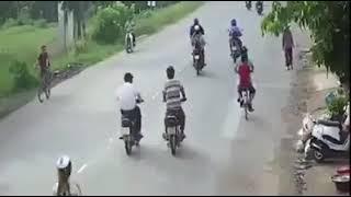 Xe công gây tai nạn chết người ở Long An.