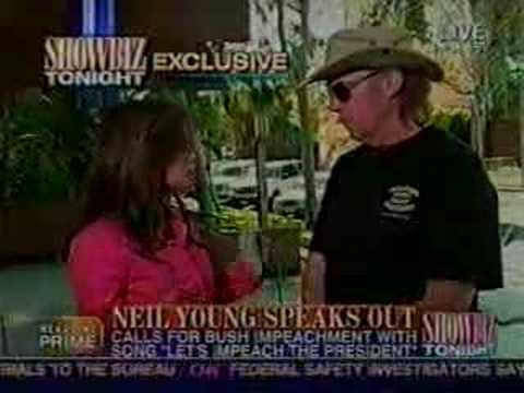 Neil Young Living With War CNN Interview 4-18-06