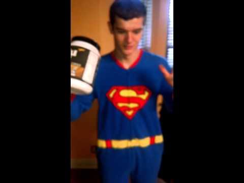 Superman Jake muscle milk