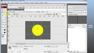 Tutorial Membuat Animasi Jam Analog Dengan Adobe Flash