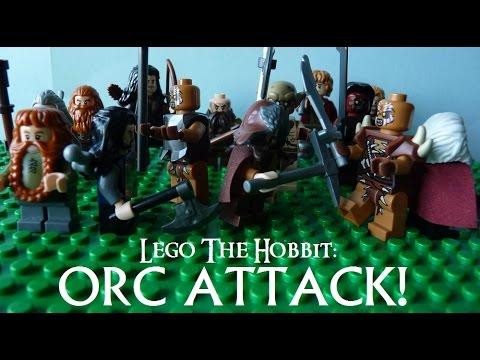 Lego The Hobbit: Orc Attack!