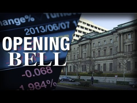 Bank of Japan Continues With Economic Stimulus, U.S. Stocks Open