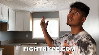 MIKEY GARCIA FLIPPING AND GETTING PAID; PERSONAL TOUR OF BUSINESS MOVES OUTSIDE THE RING