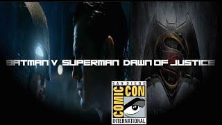 Batman v. Superman: Dawn of Justice (Fan) Comic-Con Trailer