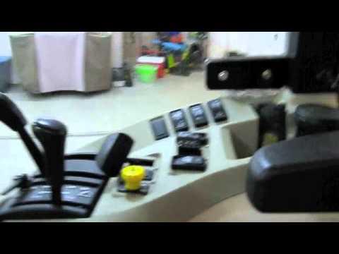 Deere 3520 cab headlight and work light mod
